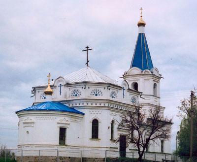 Никольская церковь в хуторе Богданов Каменского района