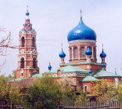 Преображенская церковь хутора Обуховка Азовского района